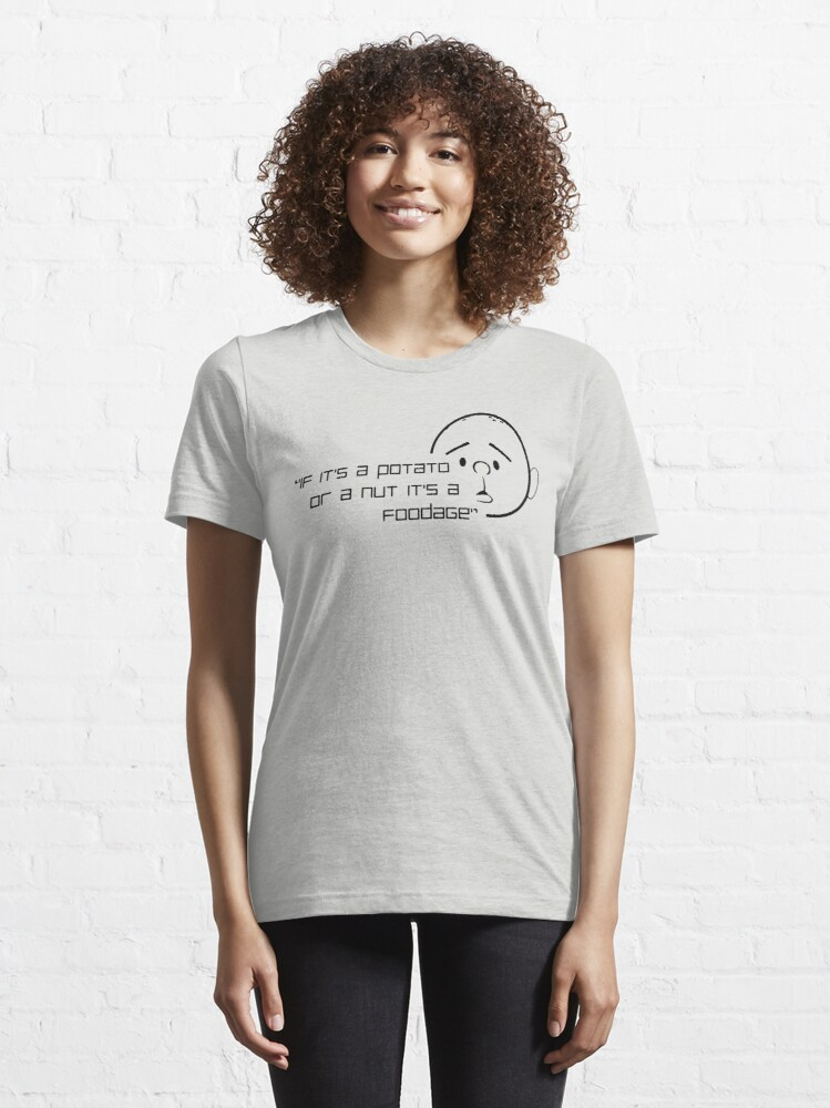 Alternate view of Karl Pilkington Quote (Foodage) Essential T-Shirt