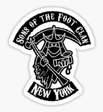 Sons of the Foot Clan Sticker