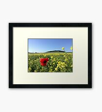 The French Countryside  Framed Print