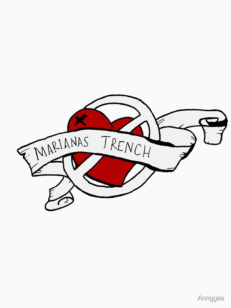 Marianas trench design   Baseball  Sleeve