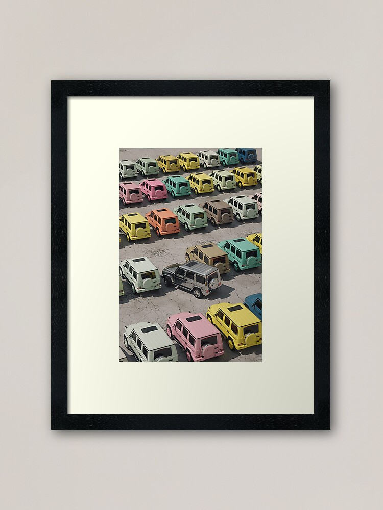 Alternate view of a colorful world Framed Art Print