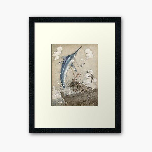 Der alte Mann und das Meer Gerahmter Kunstdruck