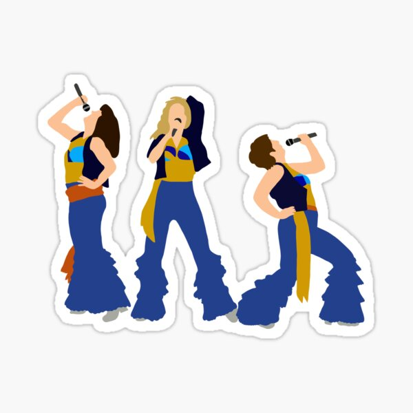 Donna and the Dynamos Sticker