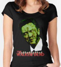 Walking Dead Christopher Walken Halloween T-Shirt Women's Fitted Scoop T-Shirt