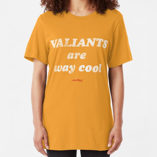 Valiants are way cool Slim Fit T-Shirt