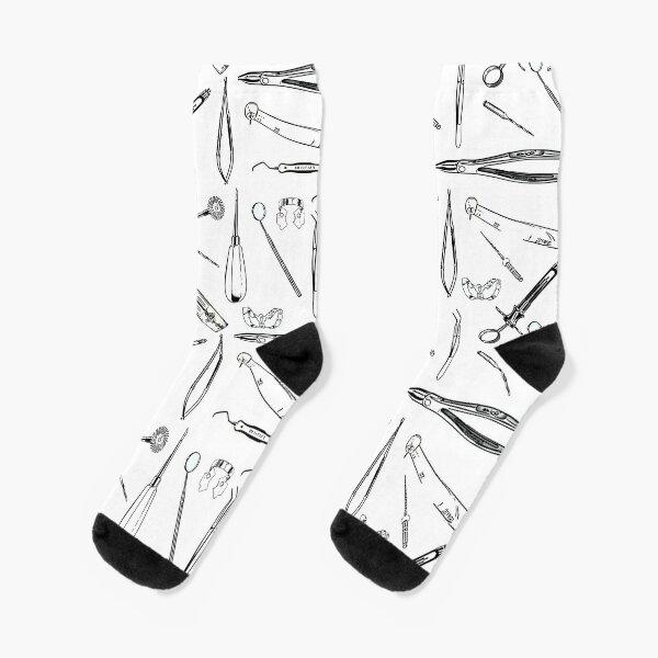 Zahnärztliche Instrumente Socken