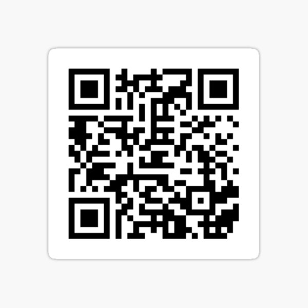 Every Ep. of Troy and Abed in the Morning QR Code Sticker