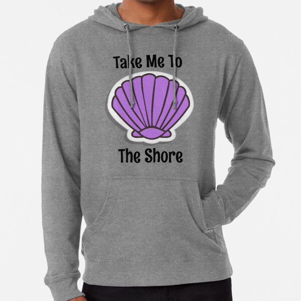 Take Me To The Shore Lightweight Hoodie