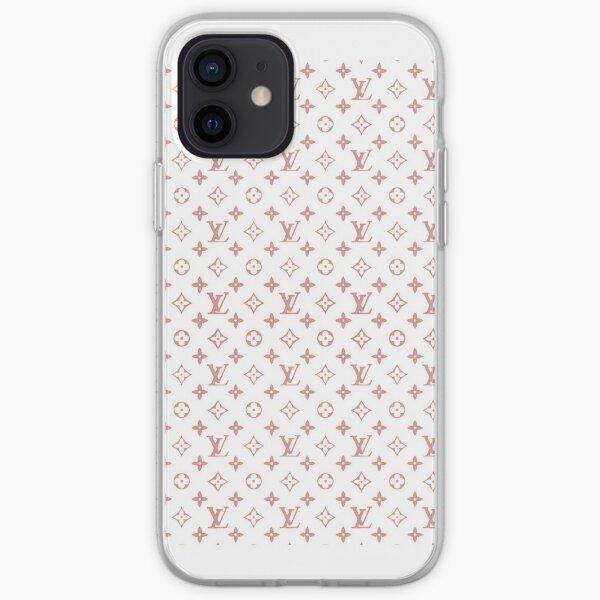 pink louis v mask iPhone Soft Case