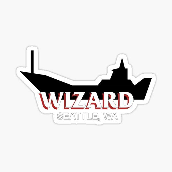 FV Wizard deadliest catch Sticker