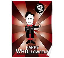 Dr Who Halloween Card 1 Poster
