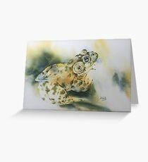 Bul-Frog Greeting Card