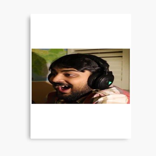 mutahar laugh Canvas Print
