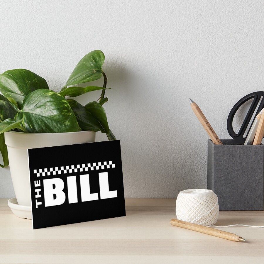 NDVH The Bill 2 Art Board Print