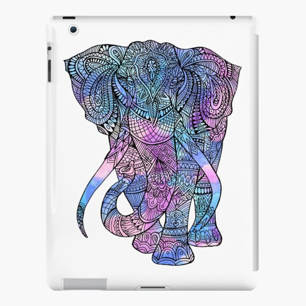 Elephant Mandala iPad Snap Case