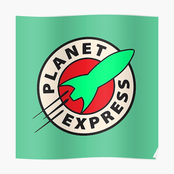 Old Bessie Planet Express Poster