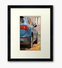 Autumn Car Framed Print