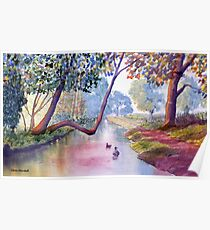 Late Summer at Brompton by Sawdon Poster