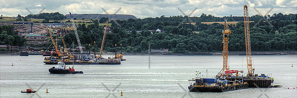 New Forth Crossing - 31 July 2013 by Tom Gomez