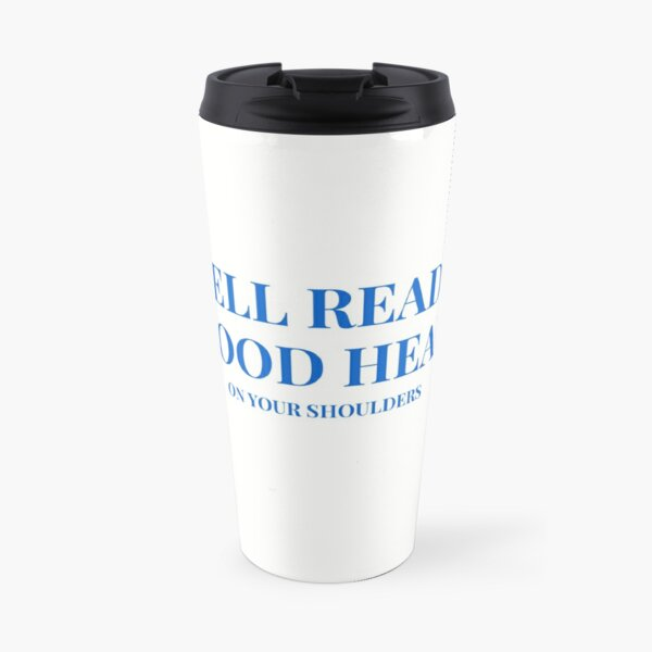 Word Play Word Power Travel Mug