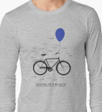 Anatomy Of A Bicycle Long Sleeve T-Shirt