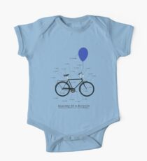 Anatomy Of A Bicycle One Piece - Short Sleeve