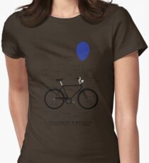 Anatomy Of A Bicycle Womens Fitted T-Shirt