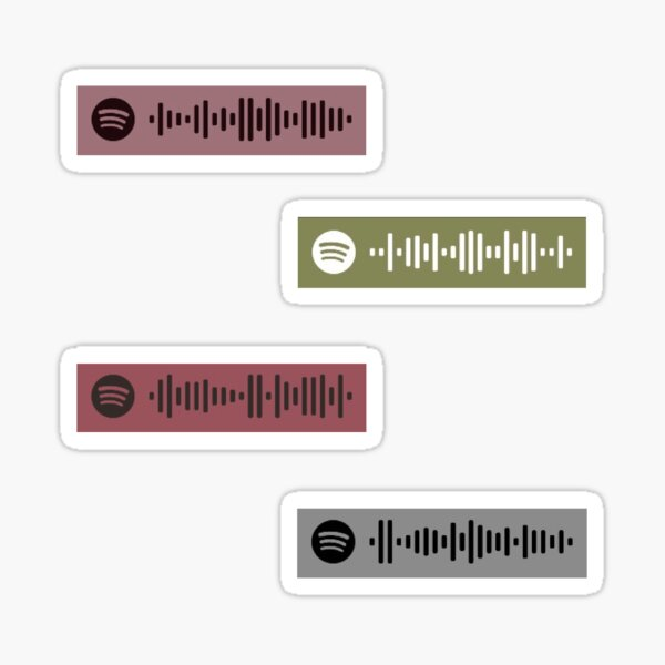 Morgan Wallen Spotify Song Codes Sticker