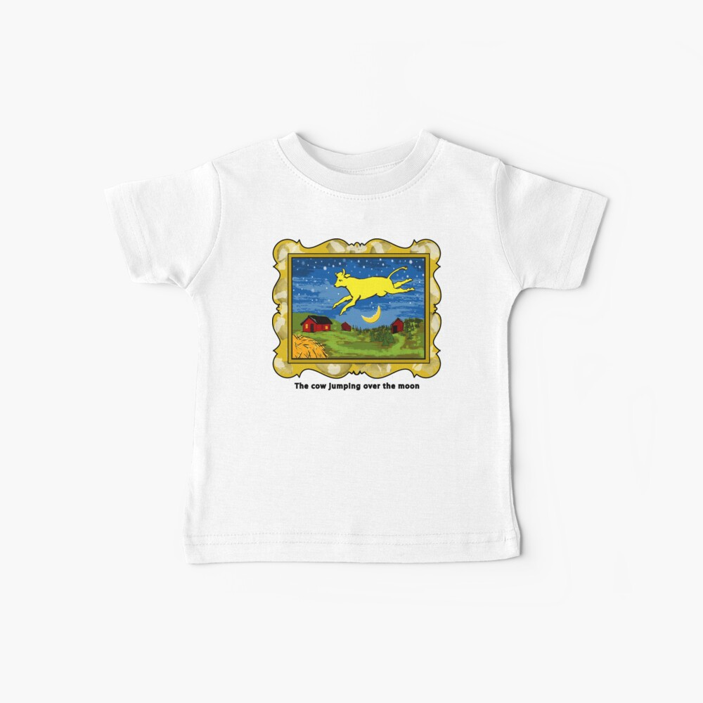 Goodnight Moon The Cow Jumping Over the Moon Baby T-Shirt