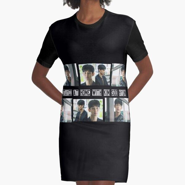 Kim Soo Hyun [ISH] Series Graphic T-Shirt Dress