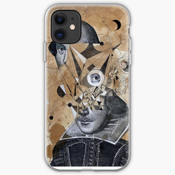 shakespeare as an abstracted concept  iPhone Soft Case
