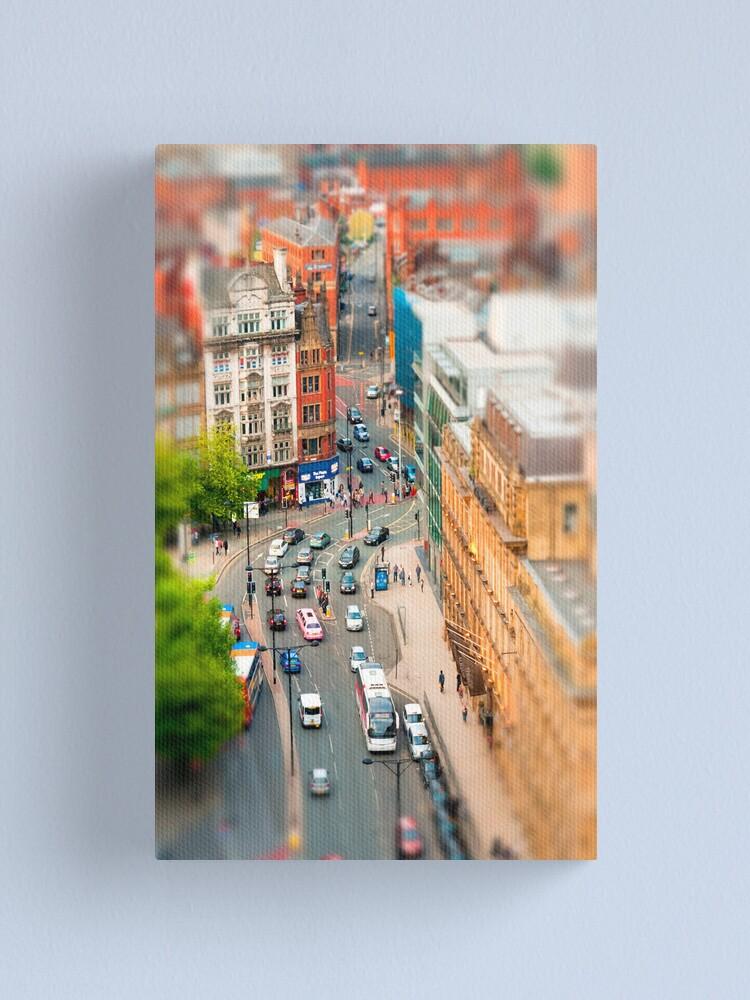 Alternate view of Manchester 'Tilt n Shift' Canvas Print