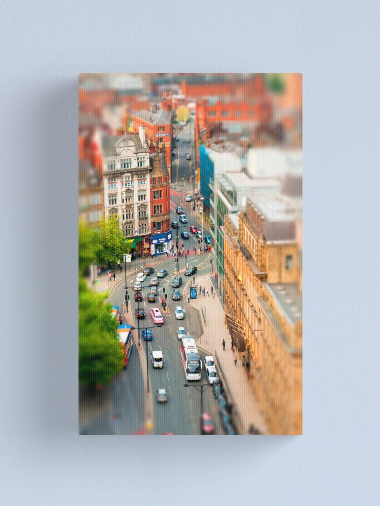 Alternate view of Manchester 'Tilt n Shift' Canvas Print