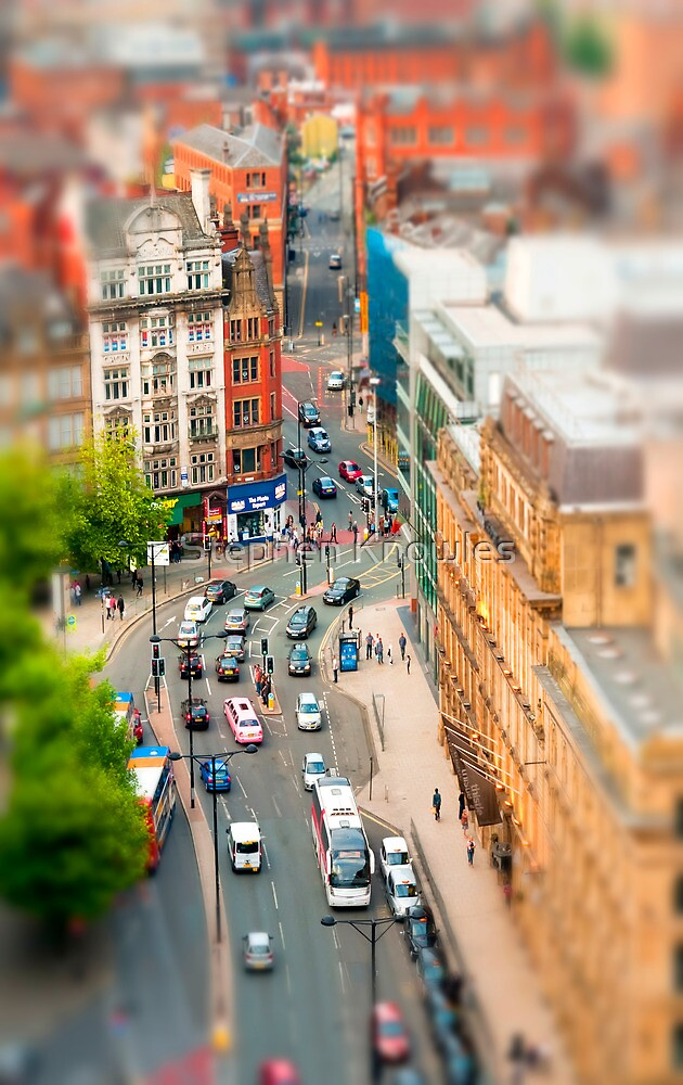 Manchester 'Tilt n Shift' by Stephen Knowles