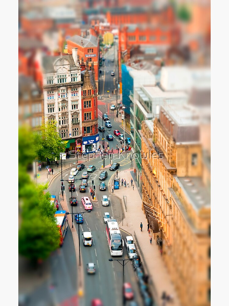 Manchester 'Tilt n Shift' by stephenknowles