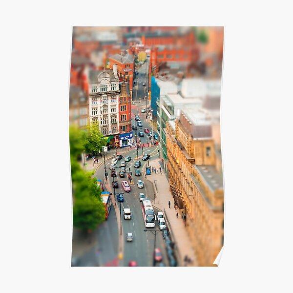 Manchester 'Tilt n Shift' Poster