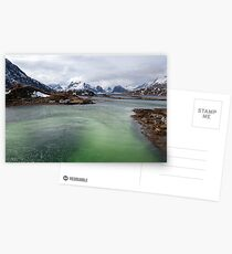 Selfjord Turquoise Postcards
