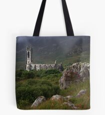 Dunlewey Church On Overcast Day Tote Bag