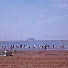Life at the Beach and Island between two layers.. by Arvind Singh