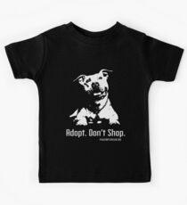 Camiseta para niños Adopte la tienda Dont Shop P4P