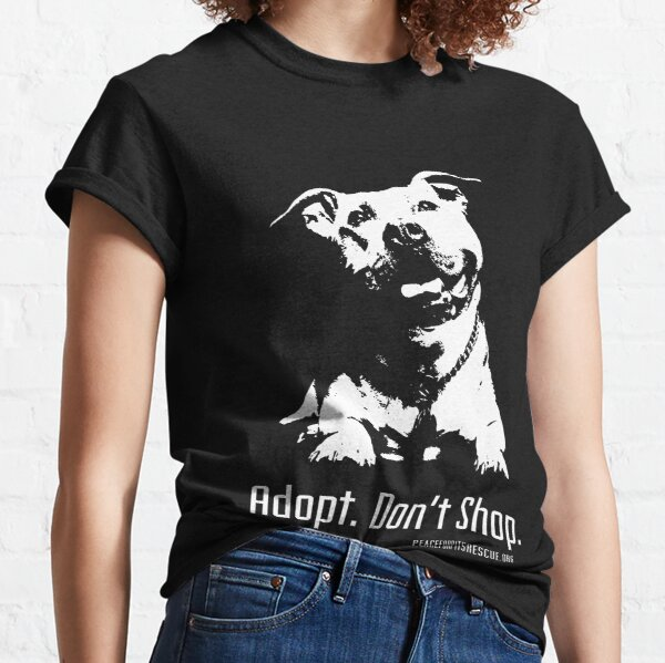 Rescues Are My Favorite Breed T-shirt Don/'t Shop Adopt Shirts