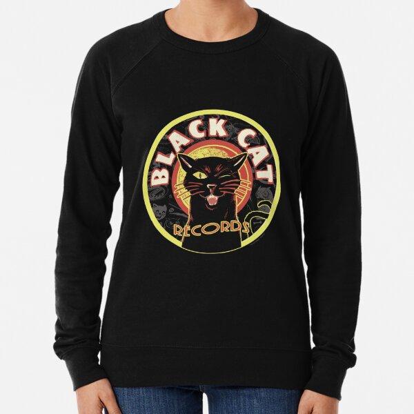 Black Cat LP Art Deco Lightweight Sweatshirt