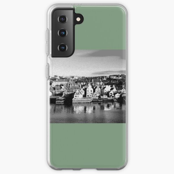 Stromness Orkney Islands (Chalk Sketch) Samsung Galaxy Soft Case