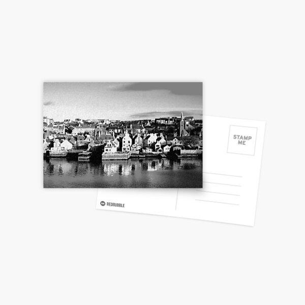 Stromness Orkney Islands (Chalk Sketch) Postcard