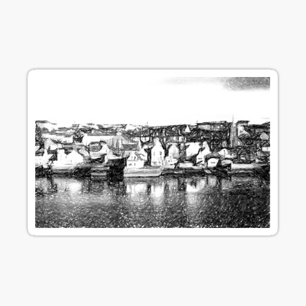 Stromness, Orkeny (Sketch) Sticker