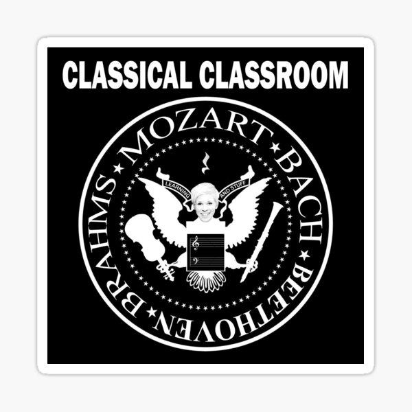 Classical Classroom Podcast logo Sticker