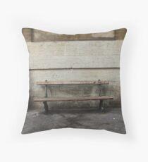 City bench Throw Pillow
