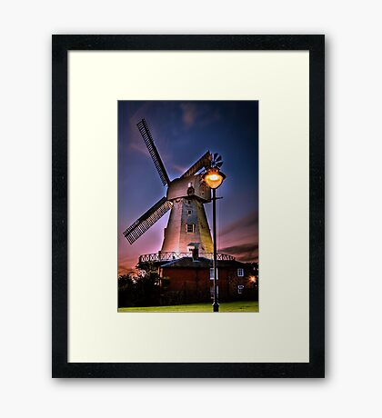 New Mill Framed Print