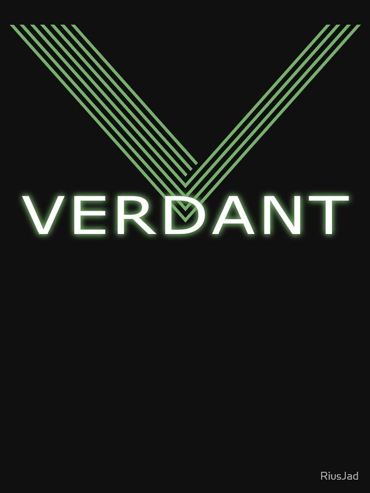 Verdant Night Club Logo - Neon Lines | Unisex T-Shirt