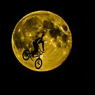 BMX Moon Rider by Dawn OConnor